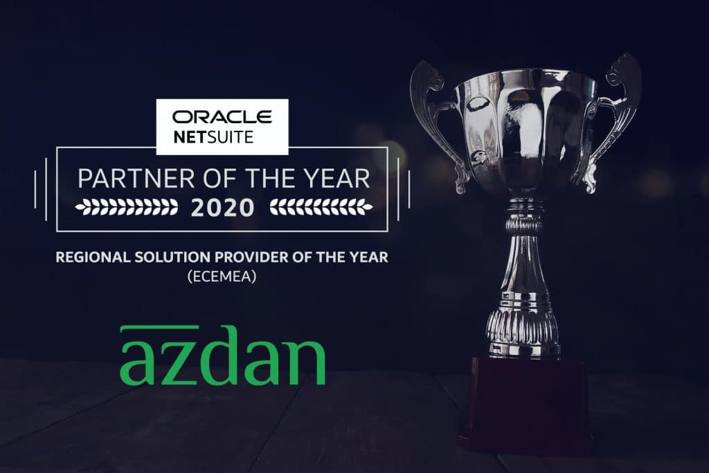 NetSuite partner of the year 2020
