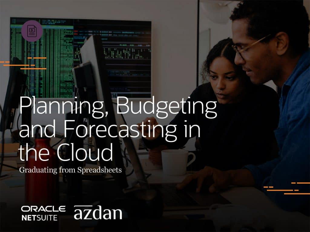 Planning, Budgeting and Forecasting in the Cloud 1